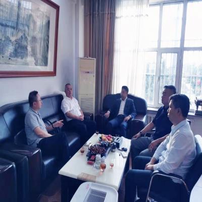 中国金属材料流通协会秘书长陈雷明一行赴辽宁省金属材料贸易商会调研